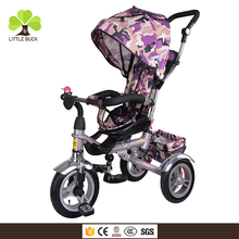 Online shopping tricycle bike for toddler , first toddler bike with parent handle , four in one tricycle for 1 year old baby boy