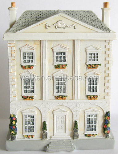 resin miniature souvenir building models