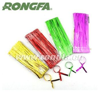 8cm 10cm 15cm Colorful Candy bags' Packing Plastic Twist Tie for packing