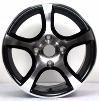 15 INCH aluminum alloy wheel rim for auto car with 5*114.3/4*108