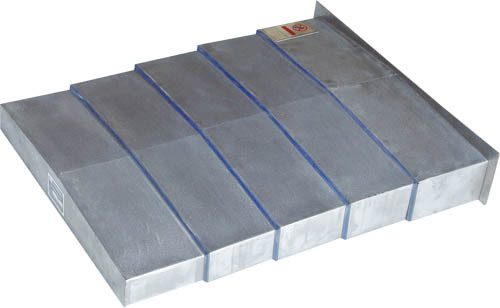 CNC machine steel plate telescopic cover