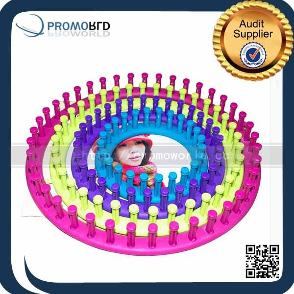 DIY knitting loom set four sizes ABS round knitting kit