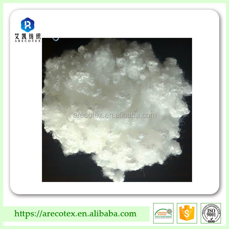 Great price in 7dx64mm hollow conjugated polyester staple fiber