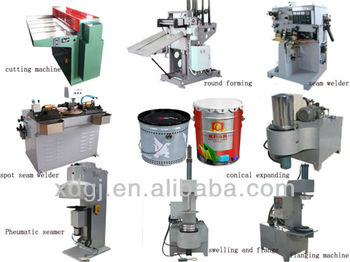 10-22L can making production line for complete open drum