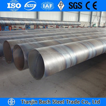 Hot Selling top quality API SSAW round spiral welded steel pipe for overseas market