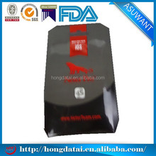promotional round corners printed plastic bags wholesale