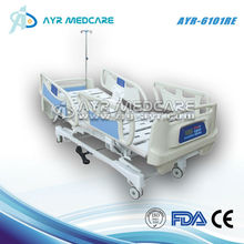 AYR-6101RE 5 functions icu beds electric motor hospital bed