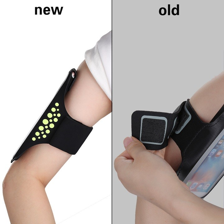 HAISSKY 2017 New patent design sports armband/ wrist band for iPhone 7/7 plus /6s/ 6s Plus/ 6/ 6 Plus