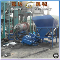Rotation type Industrial pulverized coal burner for 60t/hr asphalt mixing plant