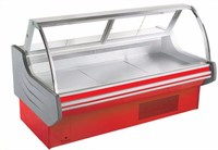 Commercial refrigeration equipment-Hot food Best selling fresh meat showcase/deli counter