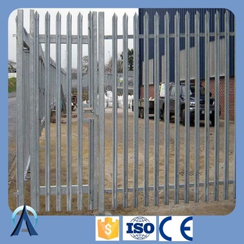 High Security Fence / steel palisade fence / powder coated palisade fencing