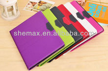 2014 Mobile phone accessories factory in china for ipad 5 book cover case