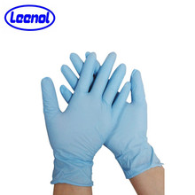 LN-8009 Consumble Blue Medical Glove Nitrile Glove For Medical