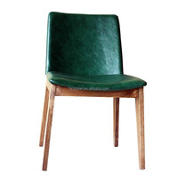 Wholesale leather and wood restaurant chair, wood dining chairs on alibaba