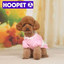 Hoopet Sweet pink maid costumes for dog dog clothes large