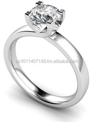 1.50Ctw Round Brilliant Solitaire Ring Lowest Cost $800