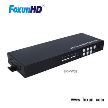 2x2 Video wall controller SX-VW02 USB/VGA/AV input HDMI video wall controller