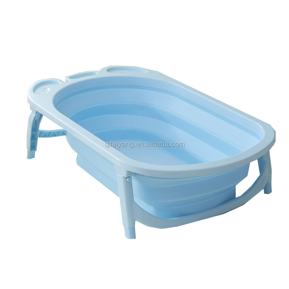 Folding bath tub/ flexible baby bath/cheap folded children bah tub