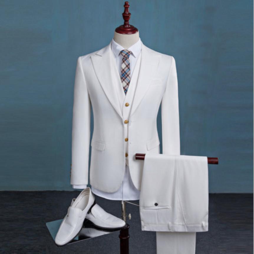 Wholesale white men suit - Online Buy Best white men suit from China ...
