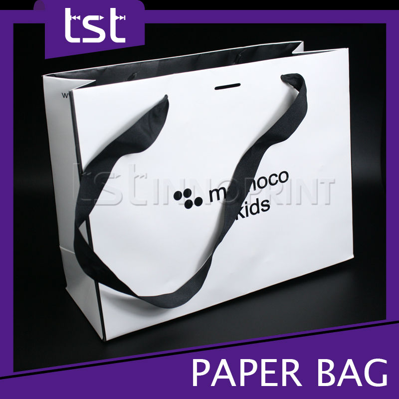 Custom Gift Bag Design Printed Logo Paper Gift Bag