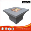 Square Magnesia outdoor Gas Fire Pit