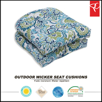 Outdoor home textile wicker cheap outdoor chair cushions