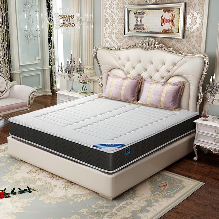 Queen size Coconut palm latex sleeping Pocket spring mattress - Jozy Mattress | Jozy.net
