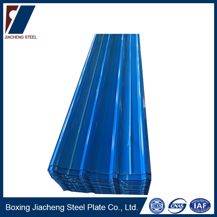 Steel roofing zinc metal tile