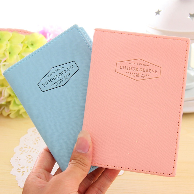 Popular in the USA RFID leather passport wallet cover,passport cover pu leather,family passport wallet