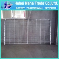 China professional manufacturer galvanized farm iron gate