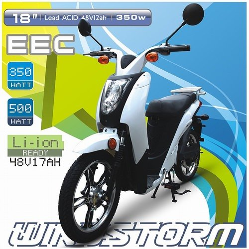 POWFU Windstorm - EEC 500W electric scooter 800W scooter 500cc, original manufacturer of electrical scooter for sale