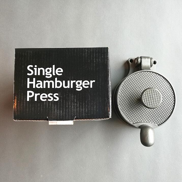 Single hamburger
