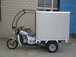 Hot Sale Wagon Box 3 Wheel Cargo Tricycle With Front Cabin On Sale
