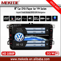 8'' volkswagen car audio player for vw Jetta passat with AM/FM Support steering wheel control DVD GPS