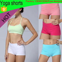 (Factory:ODM/OEM) Hot yoga shorts for sports women's fashion yoga sports shorts to keep fit