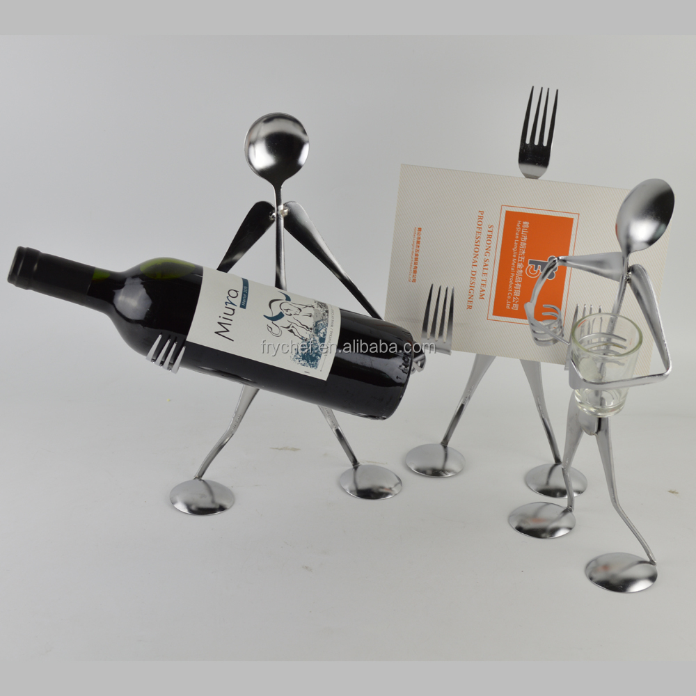 Metal Handicrafts For Home /Wine Bottle Holder /Napkin Holder ,IPhone Holder