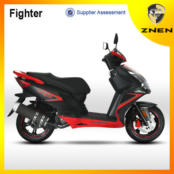 2017 new product china scooter 125cc 150cc with LED light cheap gas scooters