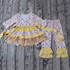 Wholesale Carters Baby Floral Long Sleeve Autumn Winter Clothing Set For Kids Cheap Newborn Casual Wear Baby Clothes