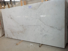 2017 Nice Cecilia White Polished Marble Tiles For Floor And Walling