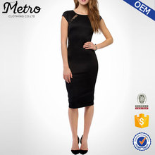 Body con dress black lace fashion summer european ladies casual dress