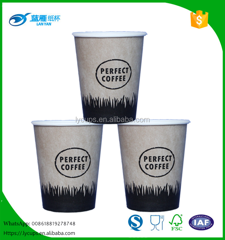 Christmas hot drink paper coffee cups design with lid