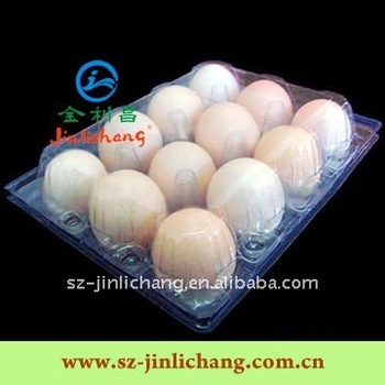 PVC/PET Plastic Tray for Any Egg