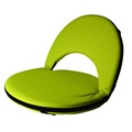 Portable Adjustable Foam Floor Chair Round Folding Chair