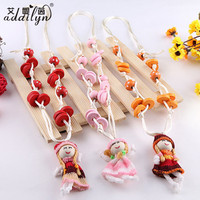 baby fashion cartoon cheap sweater chain