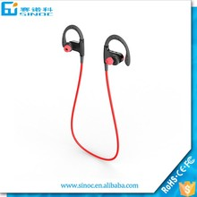 Sinoc Hot sport bluetooth earphone, music smart bluetooth headphone, stereo bluetooth headse