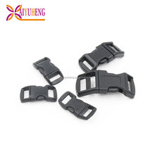 20mm side release backpack buckle custom logo bag plastic buckle
