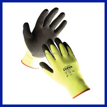 2015 SRSAFETY 10G Hands protective work string knitted latex gloves CE EN 388