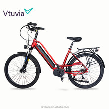HOTSALE 250w 26inch electric city bike bicycle for women