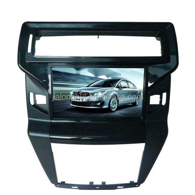Center GPS Car Navigation Portable Vehicle 8 Inch HD Screen Sat Nav FM Transmit DVD Display For Citroen C-QUATRE 2012-2014 CANBU