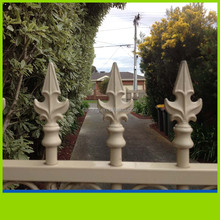 TOP SELL decoration Aluminium anchor fence post spike